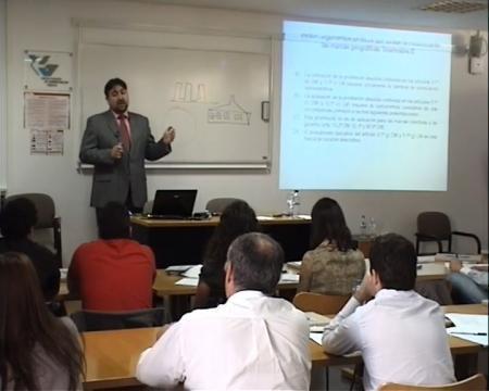 Ángel Martínez Gutiérrez, profesor titular de Dereito Mercantil na Universidade de Xaén - Curso de Marcas